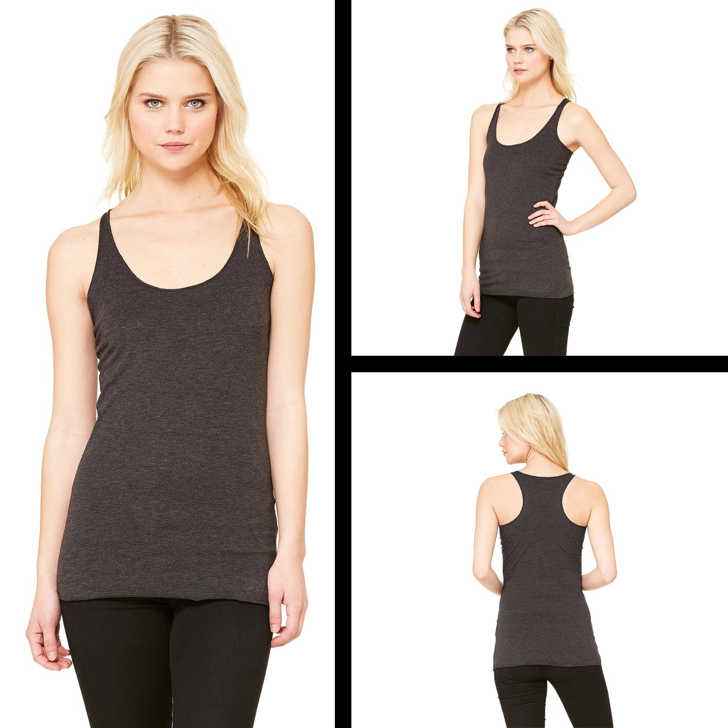 FerociTees Shmoopy Shmoopie Romance and Valentines Day Triblend Racerback Tank Top for Women