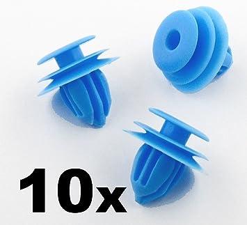 10x Remaches Plásticos - Cierre Retención Embellecedor Panel Puerta Interior Coche x10 (90467-10167 / 9046710167) - Coche Grapas - Franqueo libre!: