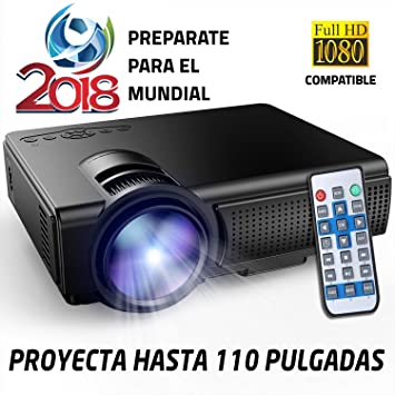 Proyector Full HD 1080P Compatible, Marca Unicview, Portátil ...