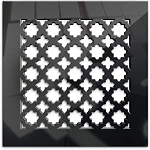 SABA Black Mirror Vent Cover - Limited Edition Air Wall Register 8