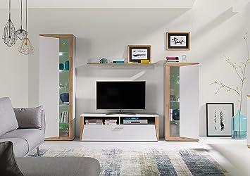 Home Direct Ines Modernes Wohnzimmermöbel Schränke Tv Möbel Weiß