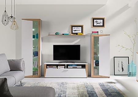 Home Direct Ines Modernes Wohnzimmermobel Schranke Tv Mobel Weiss