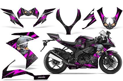 Amazoncom Creatorx Kawasaki Zx10 Ninja Graphics Kit Decals