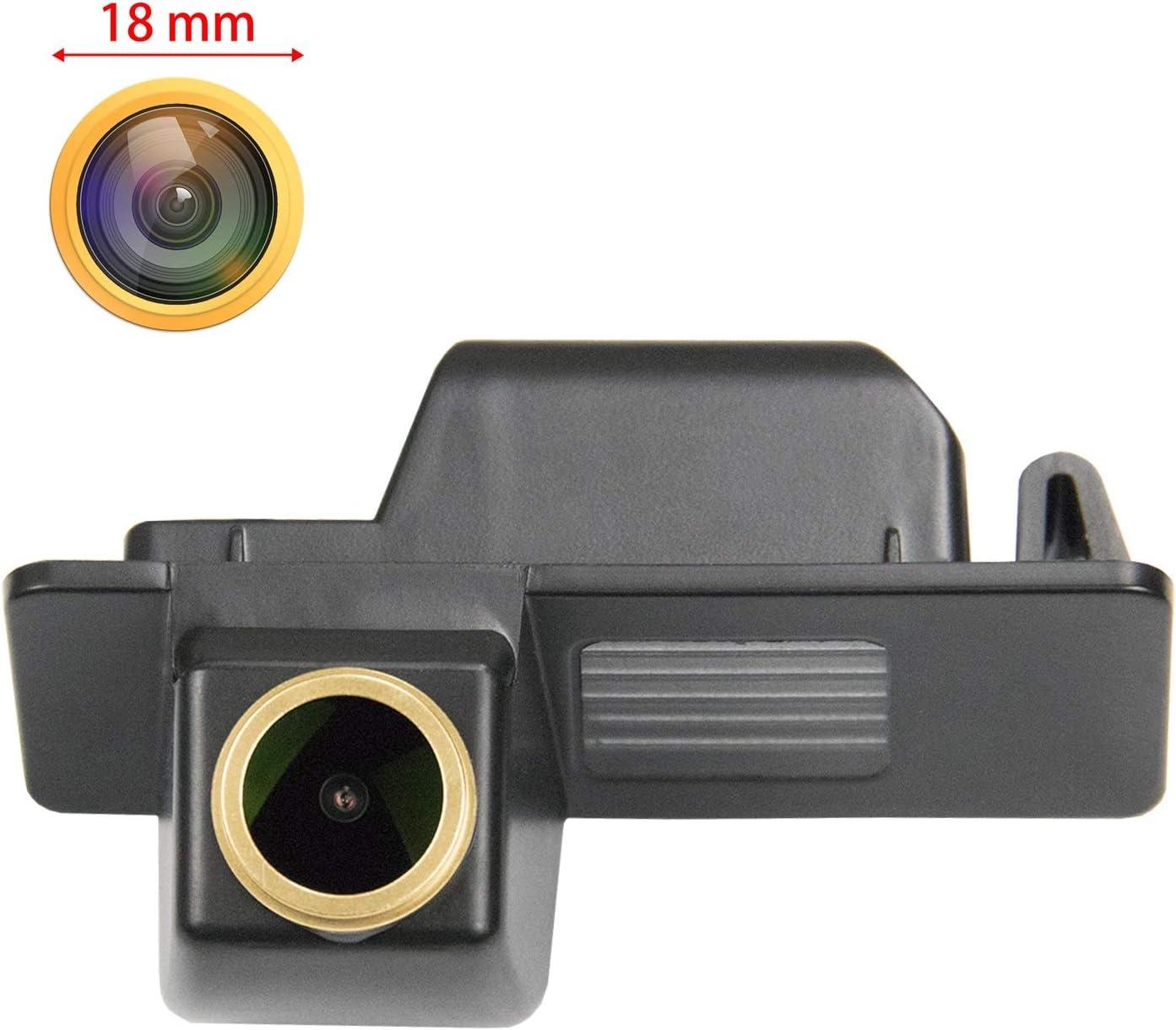 Telecamera posteriore per retromarcia HD 1280 x 720p con visione notturna Ip69K impermeabile per Chevrolet Aveo 2012 2013 2014 Cruze Equinox Trailblazer Opel Mokka