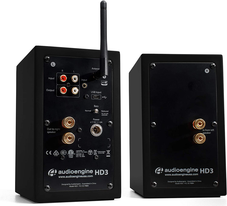 Altavoces de Escritorio inalámbricos Audioengine HD3 60W ...