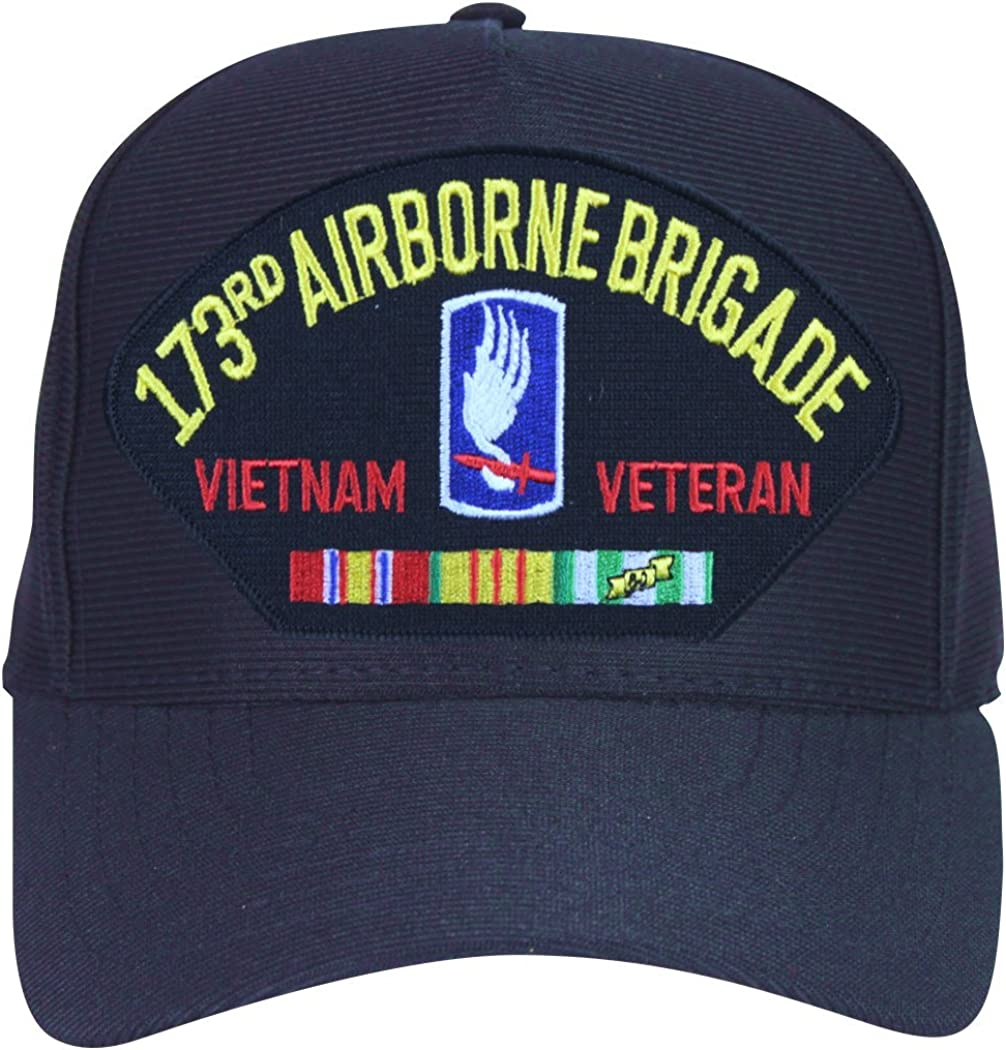 US ARMY 173RD AIRBORNE BRIGADE BEANIE CAP HAT BLACK NEW