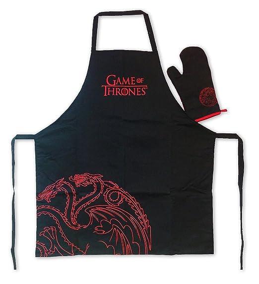 Delantal de cocina y parrilla Games of Thrones/Juego de Tronos