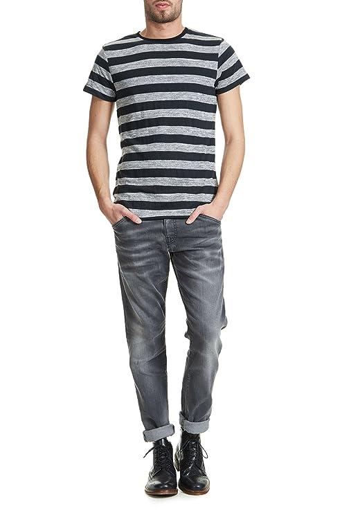 a9eb7e26dbd7 Tee Shirt Reversible Japan Rags Colin Noir Homme S  Amazon.fr  Vêtements et  accessoires