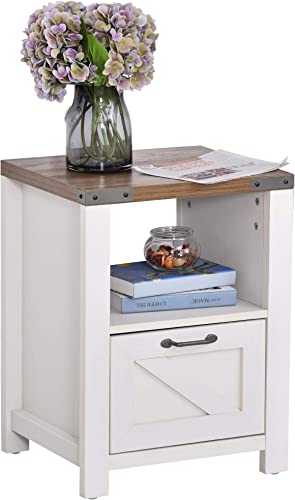 Cheap HOMCOM Industrial Side Table living room table for sale