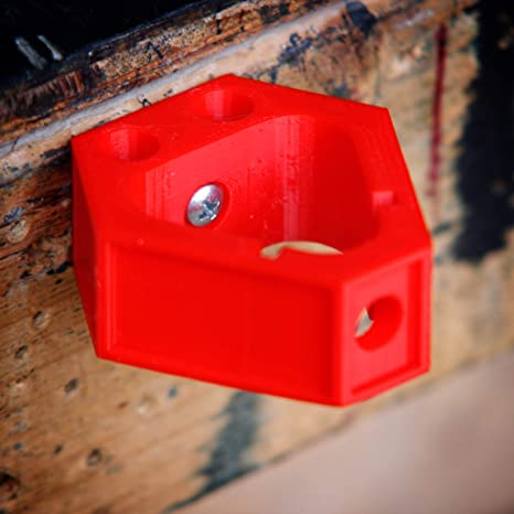 Milwaukee Accessory M12 Battery Holder Mount Dock 3D Printed
