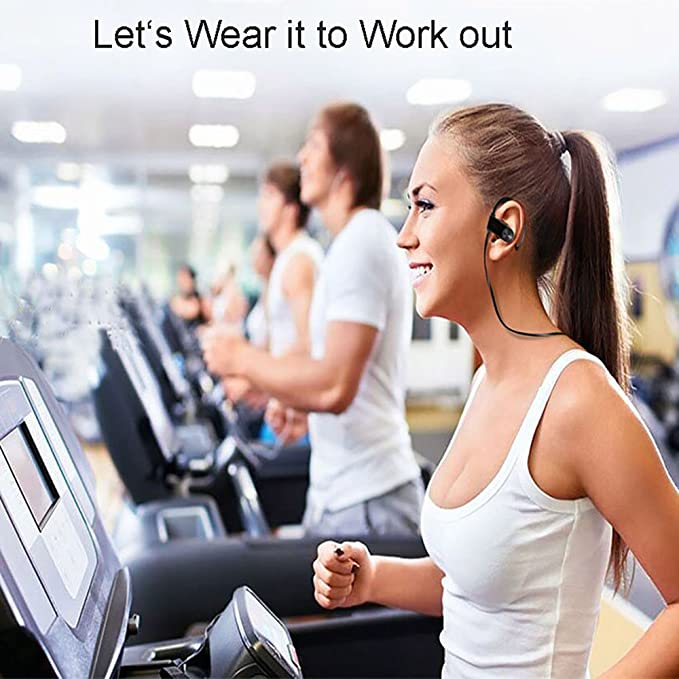 Amazon.com: Bluetooth Headset Wireless Sport Headphones with Microphone Sport Casque audio ecouteur bluetooth sans fil sport for Android/IOS: Home Audio & ...