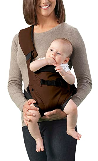 Amazon Com Aprica Side Carrier Loft Brown Child Carrier Slings
