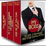 Mi jefe, 3 romances eróticos con su patron (Spanish Edition)