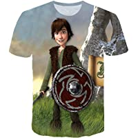 LovelyStar Store 3D Printed T Shirts How to Train Your Dragon The Hidden World Toothless Light Fury Perfect Fashion T Shirts for Women Man Kids