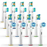 ORAX 16 pcs. Variety Pack Oral B Toothbrush Head Replacements for Oral B Electric Toothbrushes - 4pcs. from each brush head - 4 refills per pack