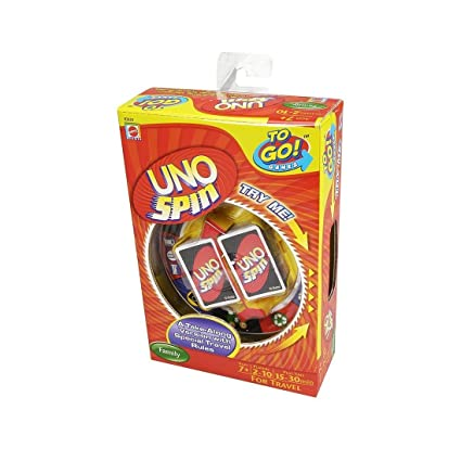 Amazon To Go Games Uno Spin Game Toys Games