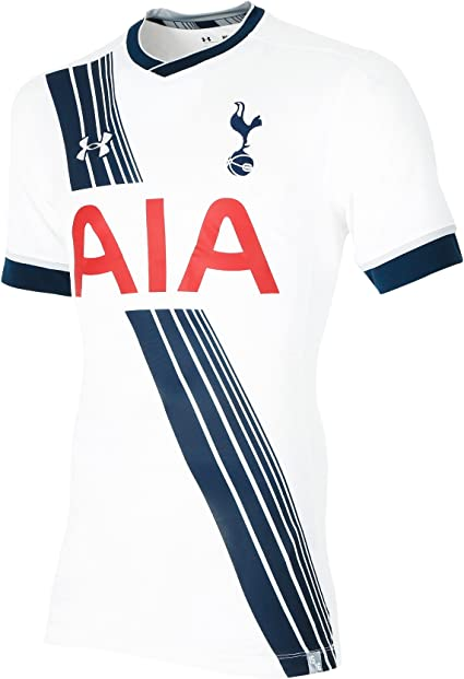 Amazon Com Under Armour Tottenham Hotspur Fc 2015 16 Ss Home Jersey Adult White Small Clothing