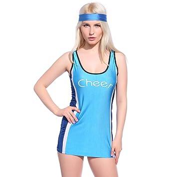 SimplyExpression Sexy Ladies Mujeres Cheerleader Animadora líder ...