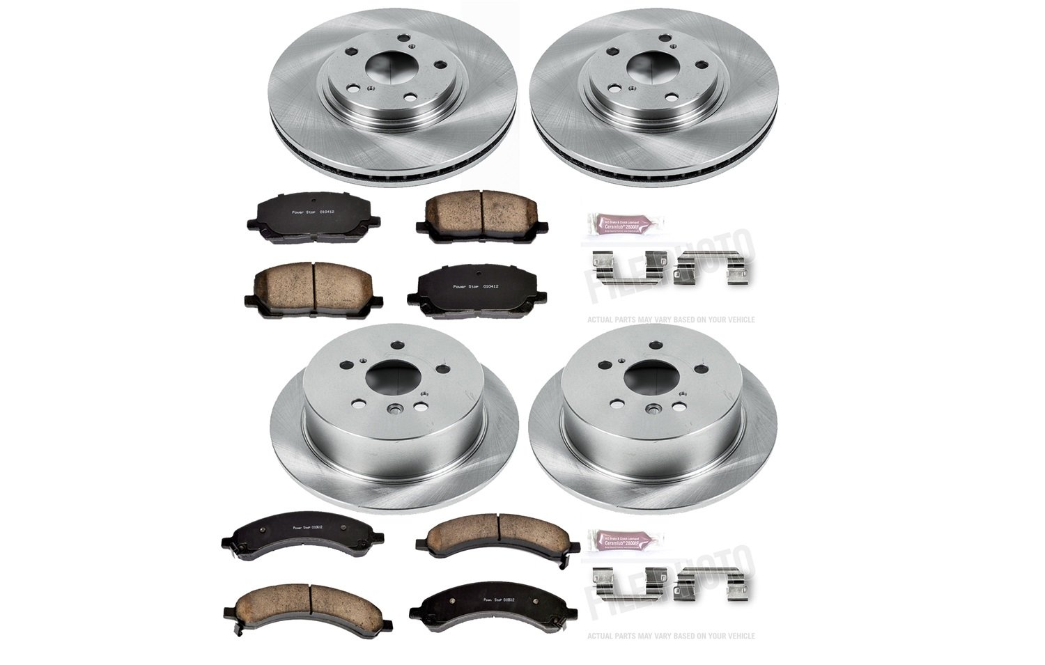 Autospecialty KOE4531 1-Click OE Replacement Brake Kit