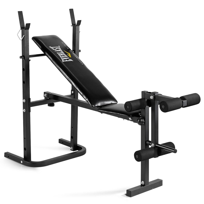 Everlast EV-WB1 Foldable Weight Bench - Black/Yellow: Amazon.co.uk: Sports  & Outdoors