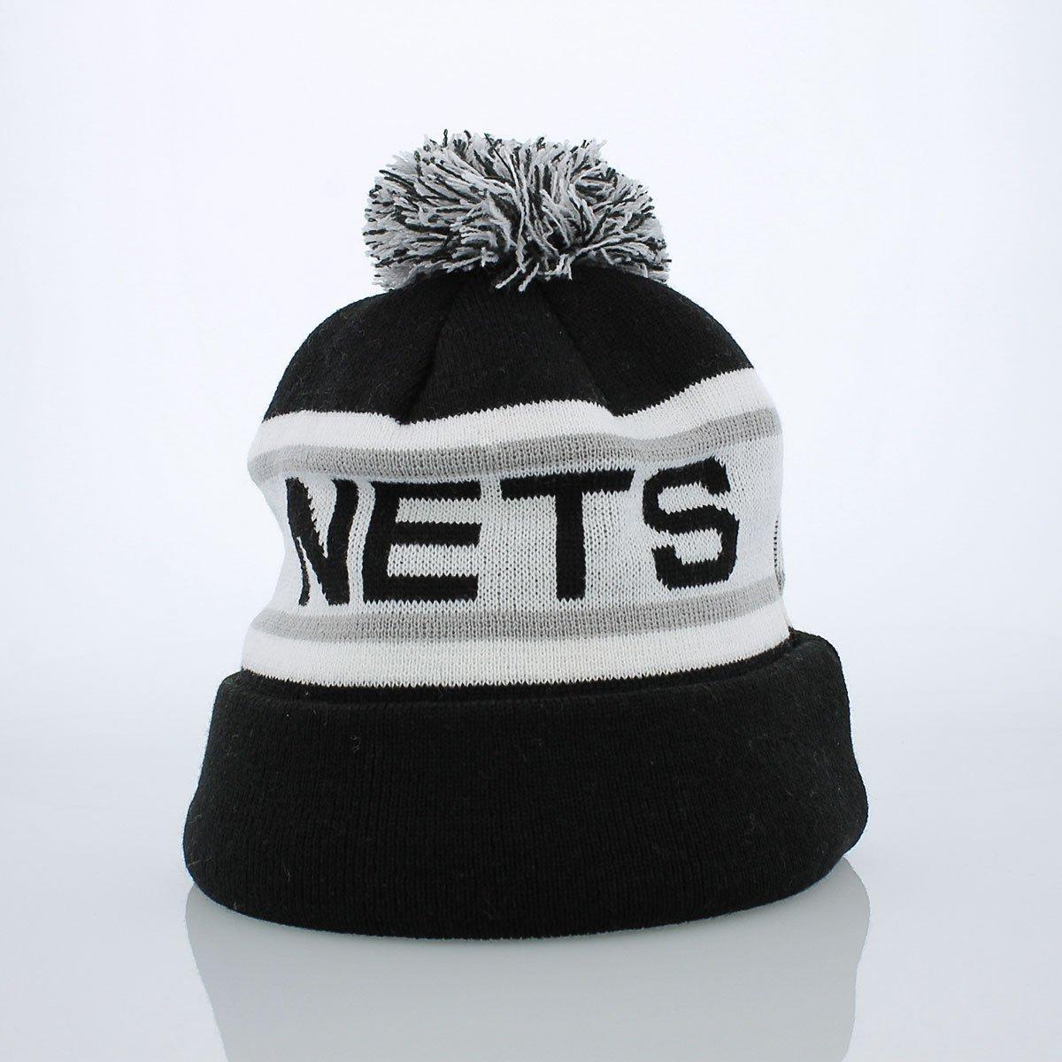 078a4b9b170f45 Amazon.com : Nba Brooklyn Nets Biggest Fan Redux Beanie : Sports & Outdoors