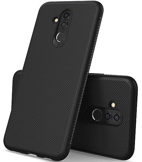 timeless design 8ceb9 ddf9a Huawei Mate 20 lite case, KuGi Huawei Mate 20 lite case, JS [Scratch  Resistant] Premium Flexible Soft Anti Slip TPU Case for The Huawei Mate 20  lite ...
