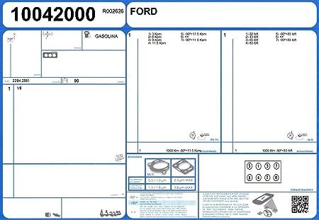 Ajusa 50040100 Juego Completo de Juntas para el Motor