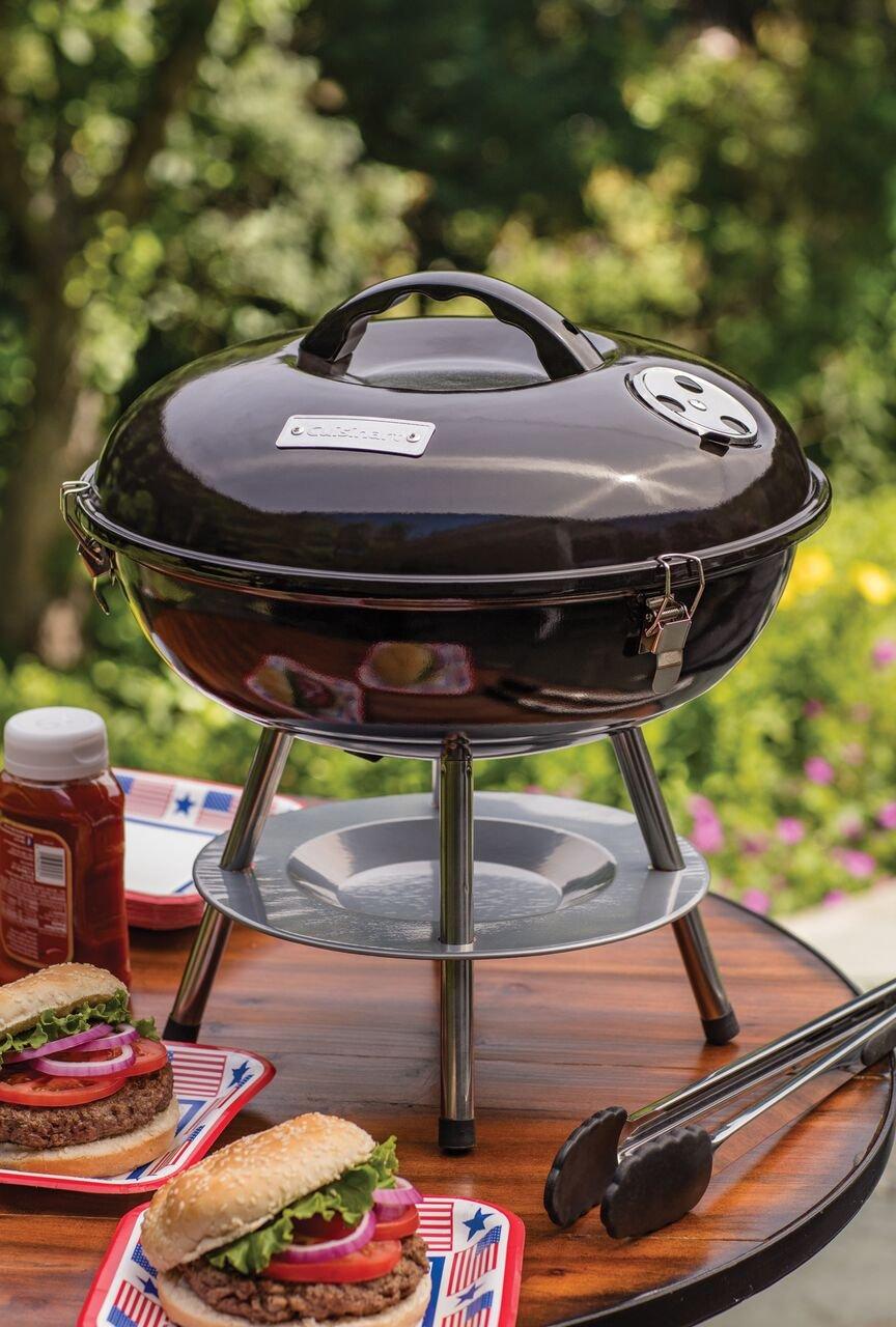 amazon com cuisinart ccg 190 portable charcoal grill 14 inch