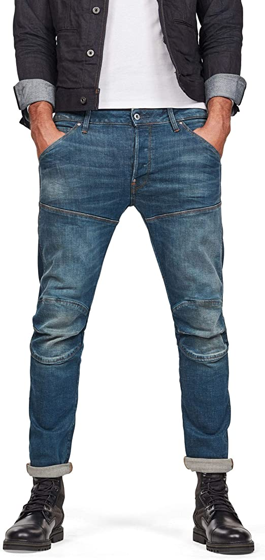 G STAR RAW Men's 5620 Elwood 3D Slim Jeans