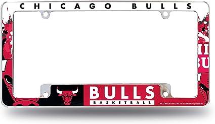 Rico Industries Bulls All Over Chrom Rahmen Sport Freizeit