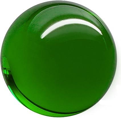 Balle de contact Acrylique Transparente 70mm 175g avec Housse de protection