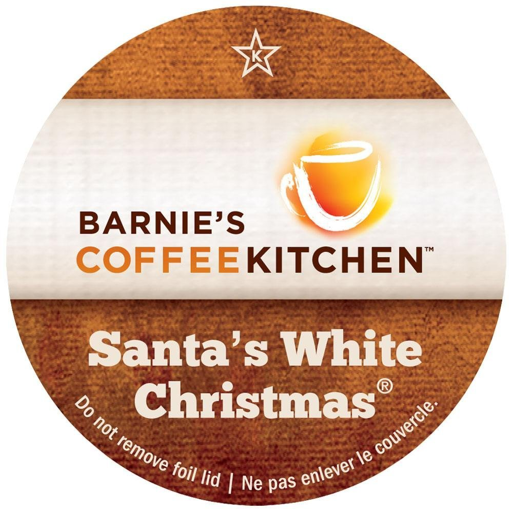 Barnie'S Coffee Kitchen Santa'S White Christmas 24Ct 2.0 compatible