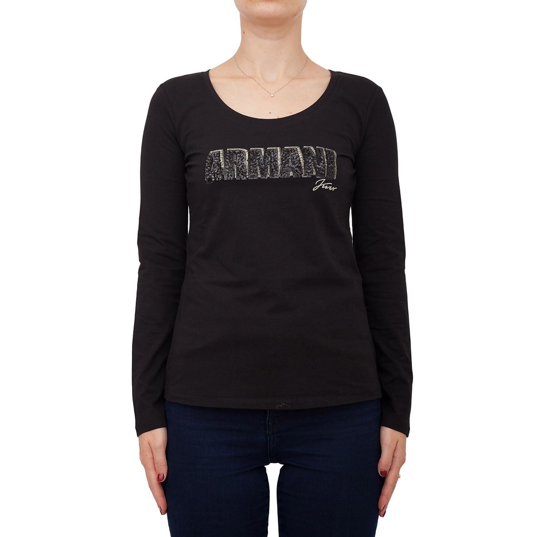 t 5jabz 6y5t29 Nero Shirt Ih0076y5t29 Jeans Donna Armani 1200 pwgqS1Uy