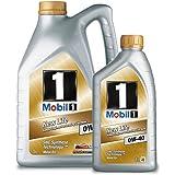 Mobil 1 151259 Motor Oil New Life 0W-40, 5 litros, además de 1 litro