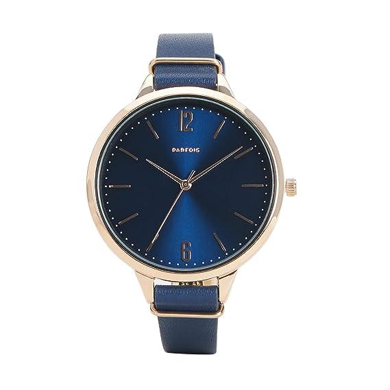 Parfois - Reloj Rose Gold Tray - Mujeres - Tallas Única - Azul Marino