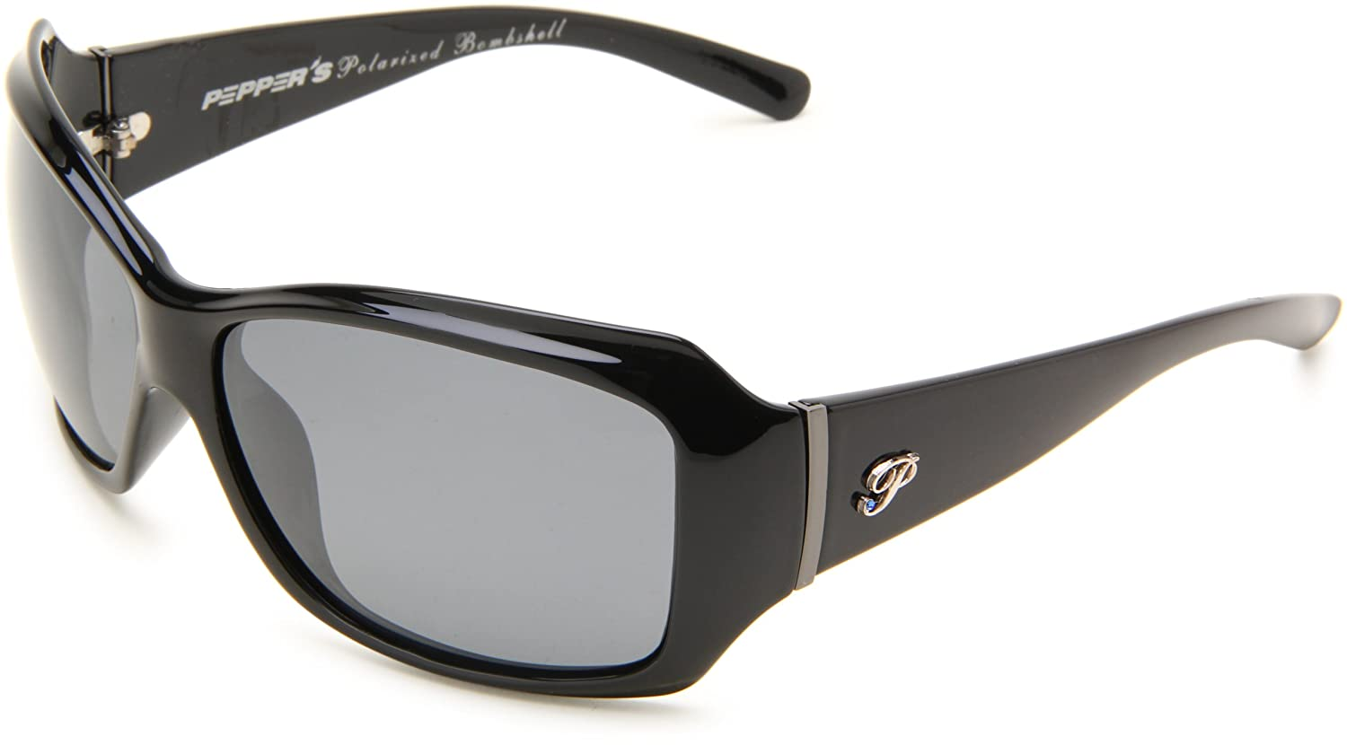67ff4dc0d Amazon.com: Pepper's Women's Molly, Black Frame/Smoke Lens one Size: Shoes