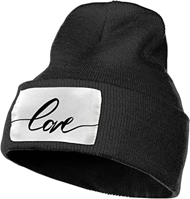 Beautiful Love Unisex Fashion Knitted Hat Luxury Hip-Hop Cap
