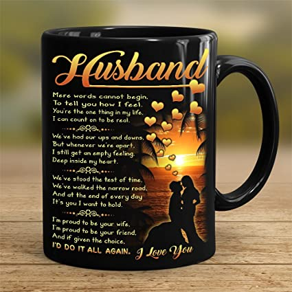 Amazon Perfect Gift For Husband 11 Oz Novelty Ceramic Coffee