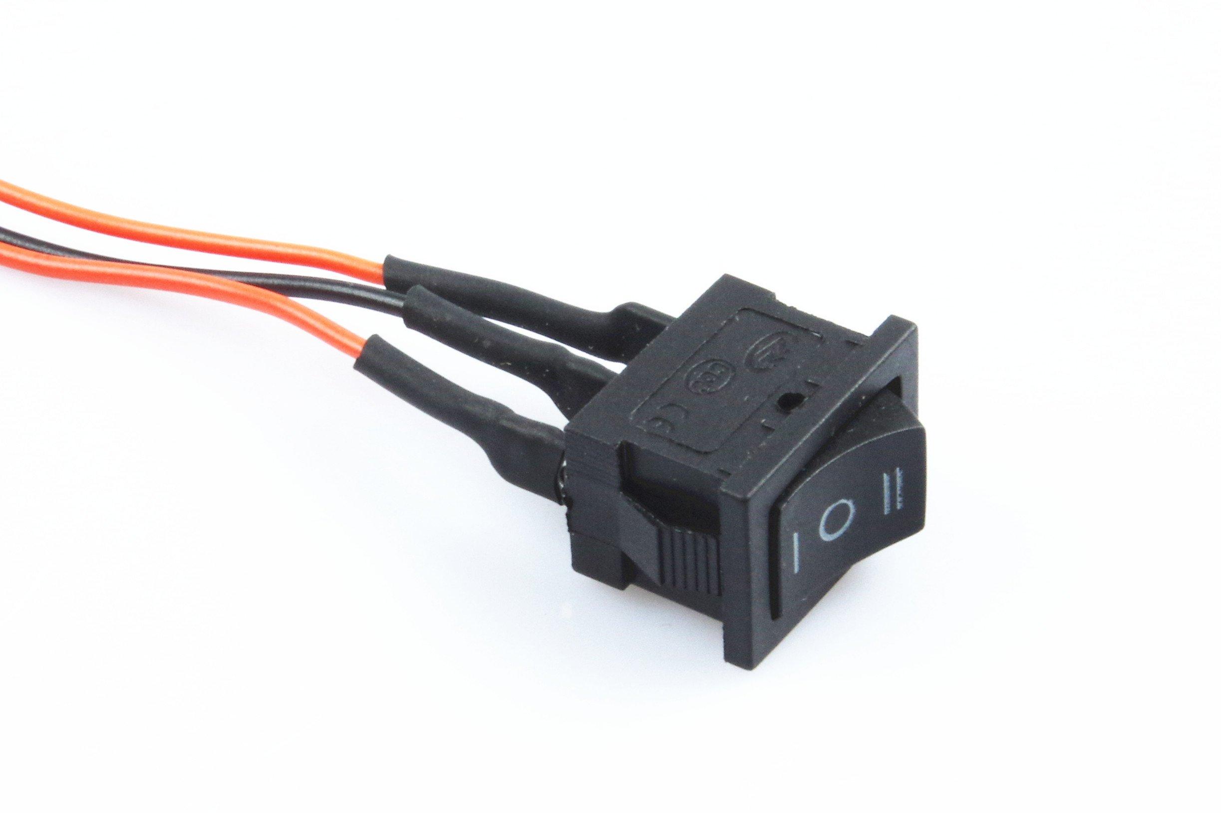 Knacro Pwm Speed Controller Electronic Governor 40a Dc 10v 50v Pwmmotorcontrollerwithforwardandreversejpg 12v 24v 36v 48v Brushed Motor Maximum Power Of 2000w Third Gear