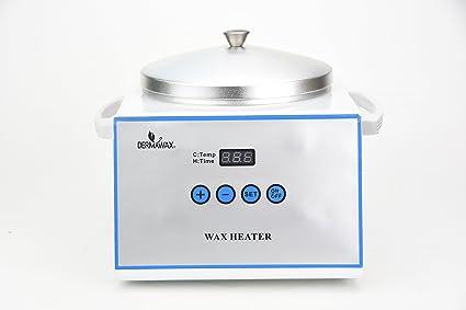 Profesional digital Cera calentador de cera calentador de con tapa de depilation Cera Tensiómetro para depilación