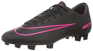 Nike Mercurial Victory Vi Fg, Entraînement de football homme, Multicolore  (Black black dad1fb78e6b1