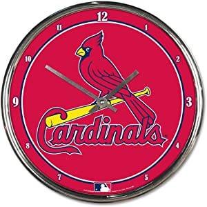 WinCraft MLB Chrome Clock, 12