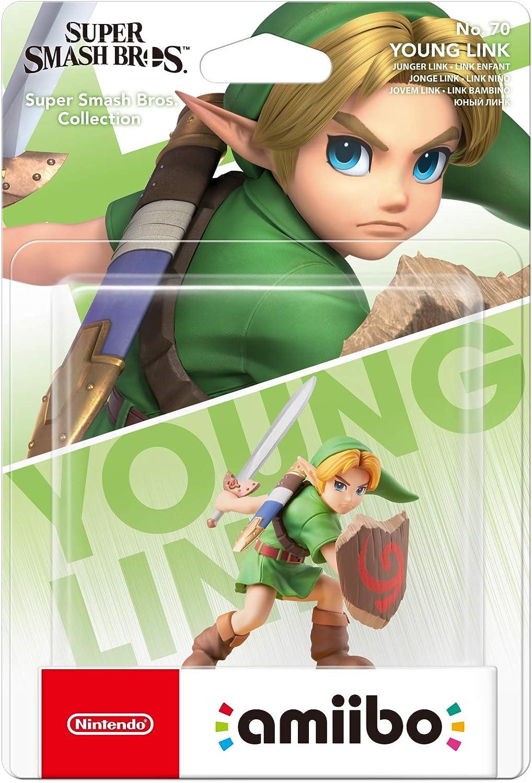 Nintendo - Amiibo Link Niño, Colección Super Smash Bros Modelo antiguo