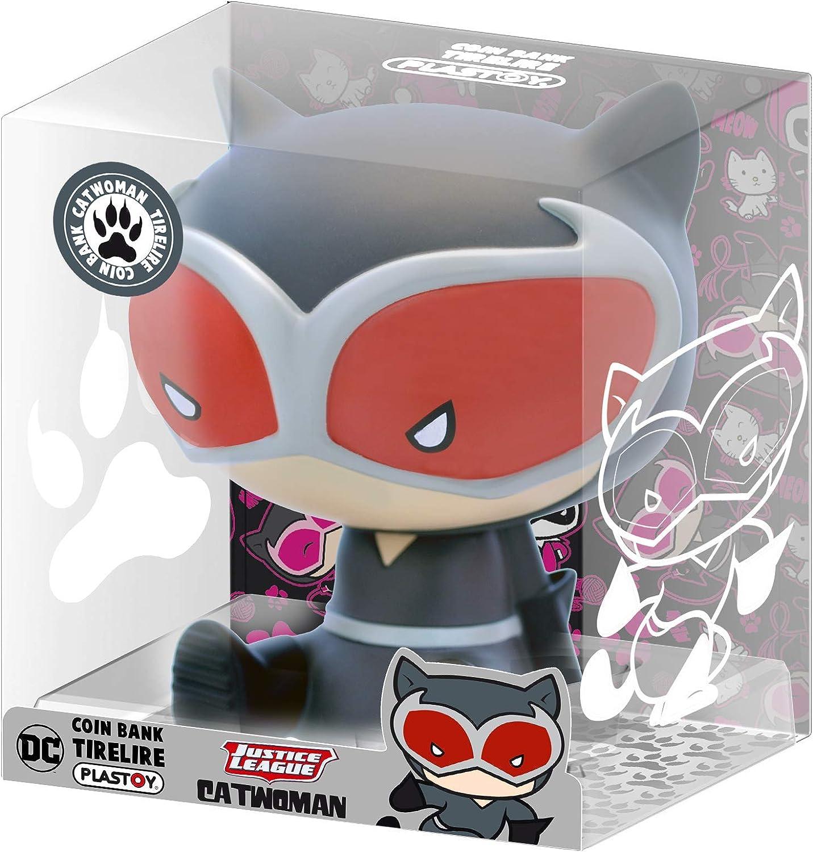 Funbox Media 80076 DC Comics Catwoman Piggy Bank Multi-Coloured