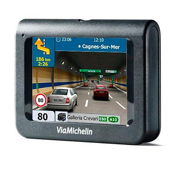 Navegador GPS con Avisador de Radares Actualizable Chip Sirf III Soporte de Ventosa para Cristal: Amazon.es: Electrónica