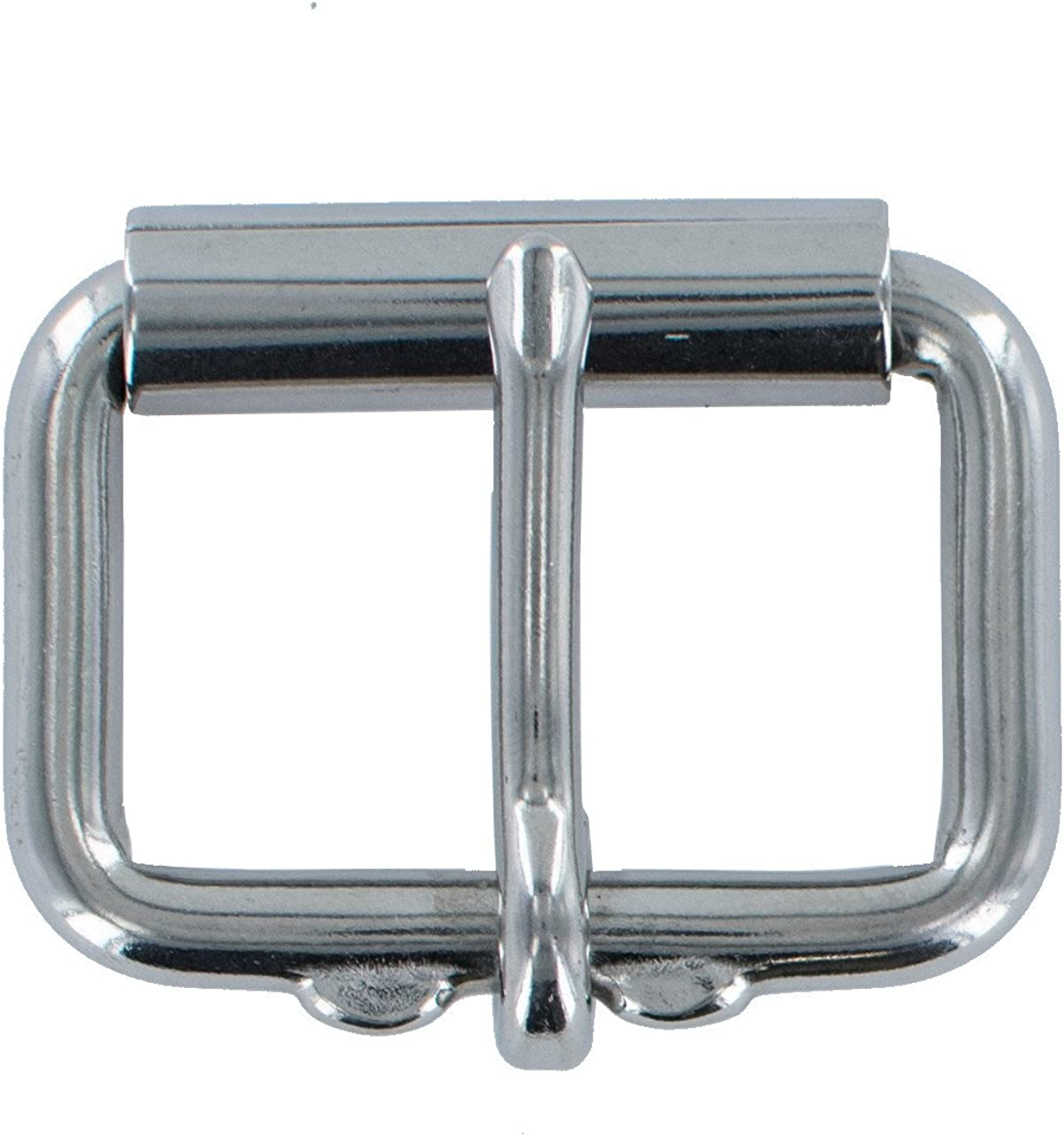"1-1//4/"" Stainless Steel Belt Buckle Hand Polished"