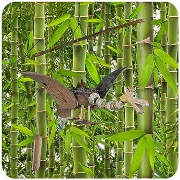 Carillon a vent en Bambou noix de coco Bois, décoratifs d\'extérieur ...