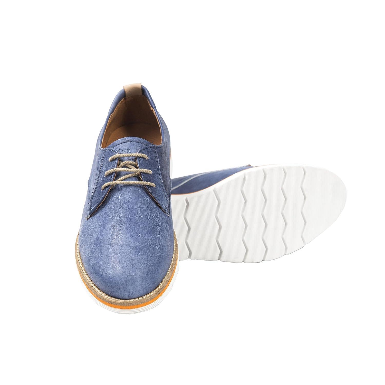 Uomini Italiani Italiani Italiani - Herren Elegantes Leder Low Schuhe mit Schnürsenkel Made in  - Mod. 111A Drag 6be6f8