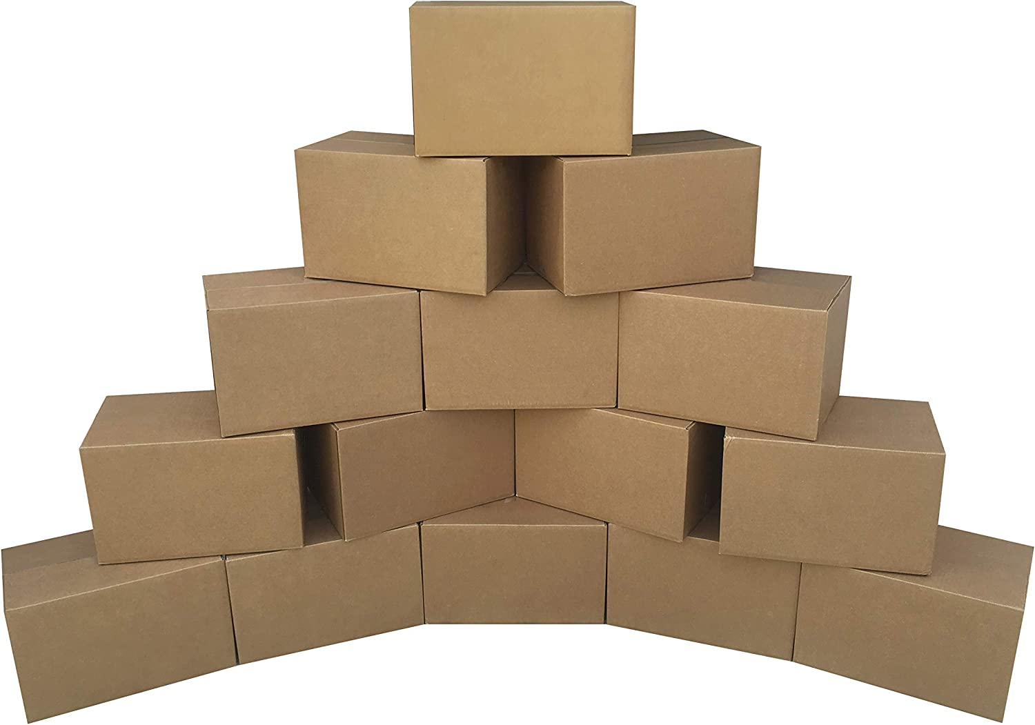 Small Moving Boxes - 16x10x10 - Cardboard Box