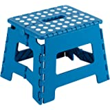 Arregui TB-021-A TB-021-A-Taburete Plegable 25x20x21cm, Azul, 210X250X200